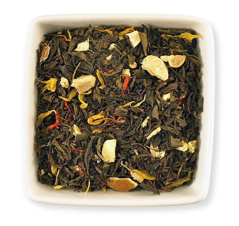 Peach Citrus Green Tea - Indigo Tea Co.