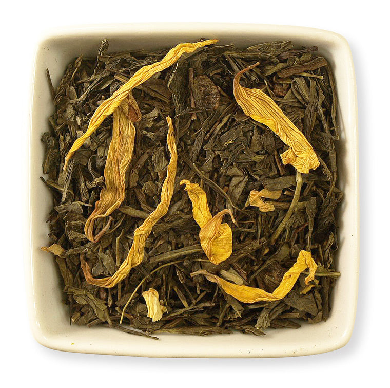 Peach Green Tea - Indigo Tea Co.