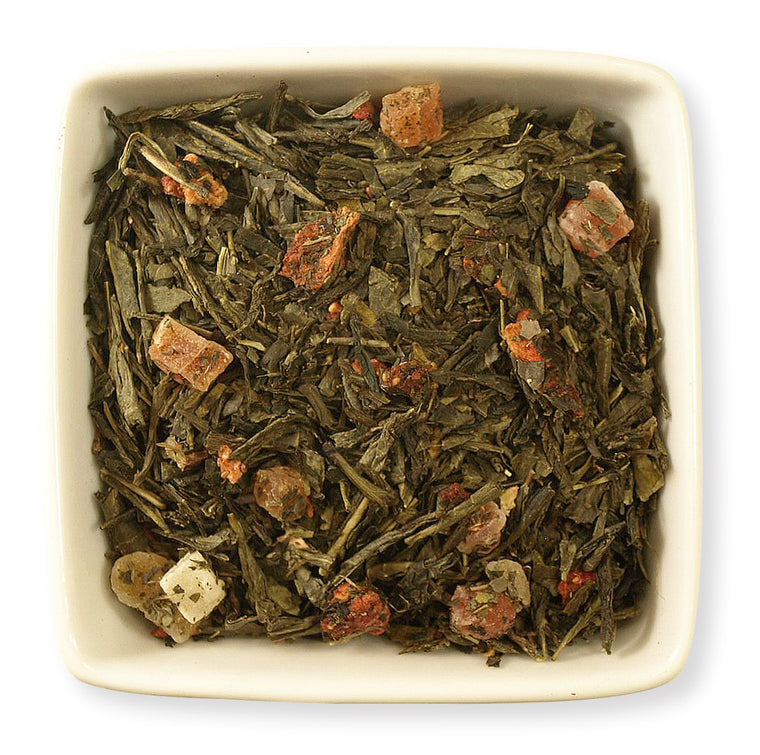 Strawberry Green Tea - Indigo Tea Co.