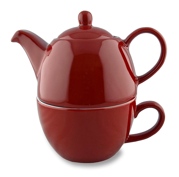 Tea for One-Red