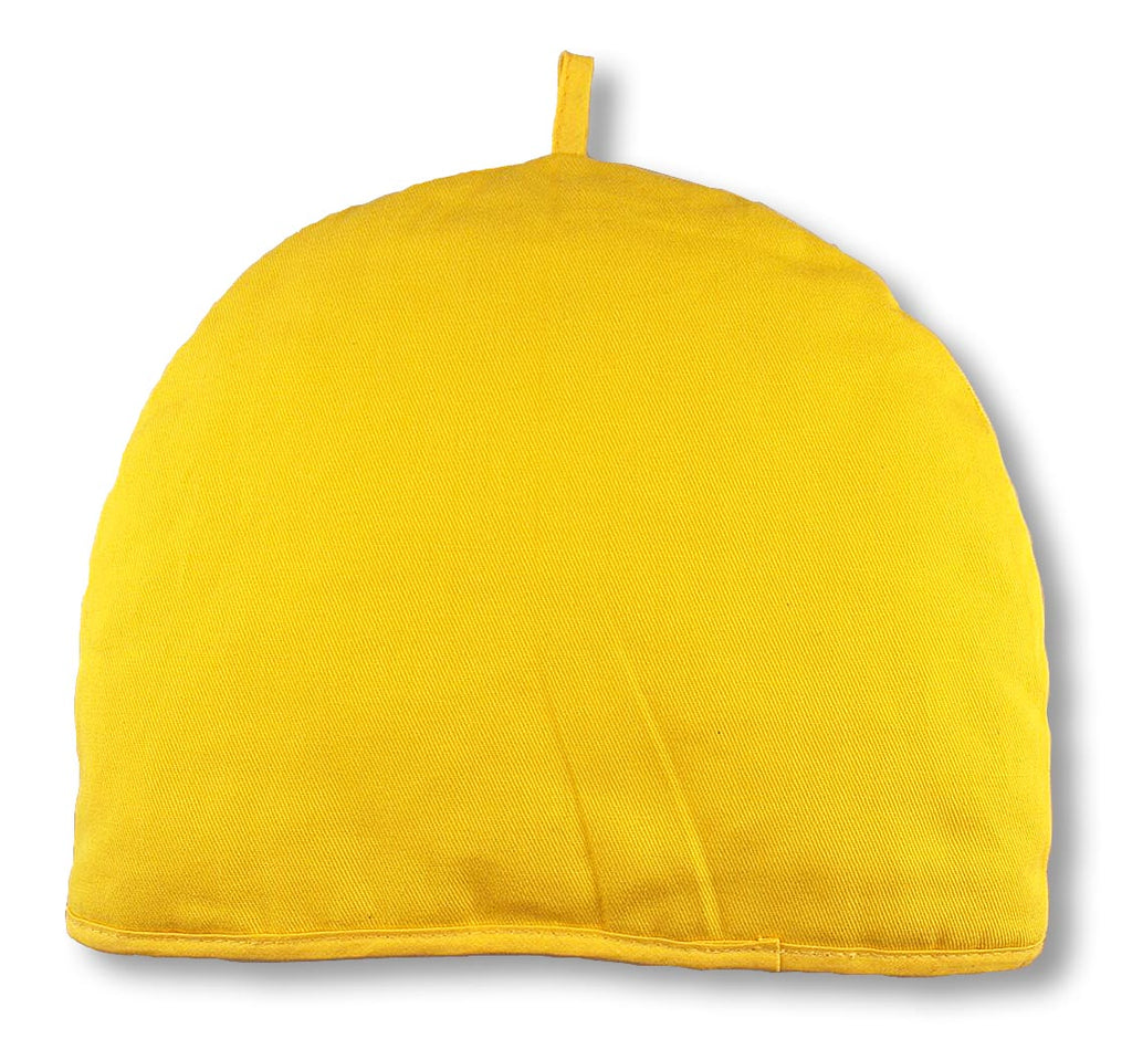 Tea Cozy-Solid Color (Yellow) - Indigo Tea Co.