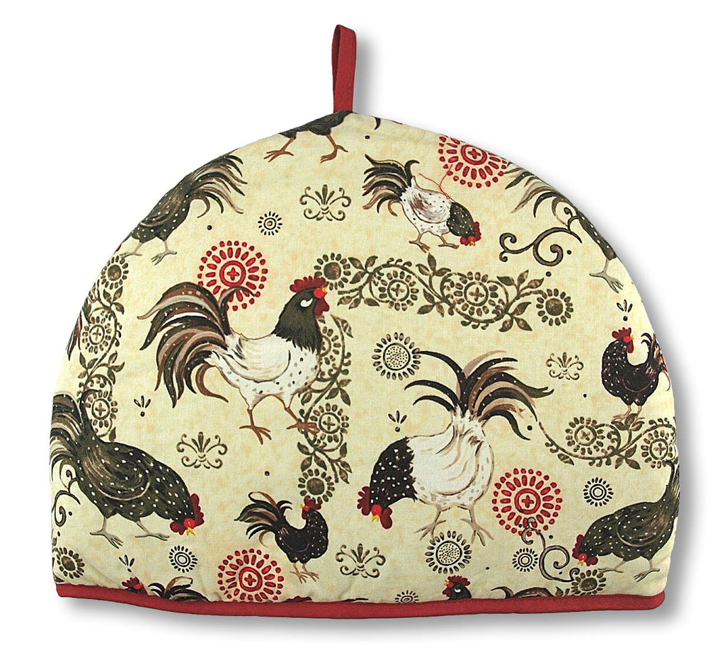 Tea Cozy-Rustic Rooster - Indigo Tea Co.