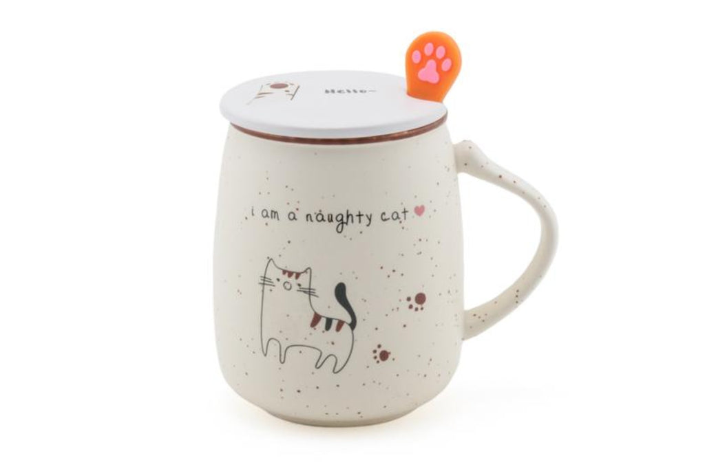 Naughty Cat Mug - Indigo Tea Co.
