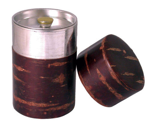 Cherry Bark Tea Canister - Indigo Tea Co.