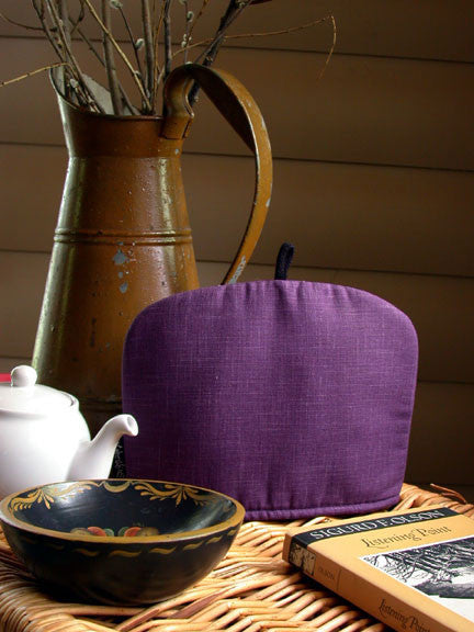Indigo Tea Cozy, Plum