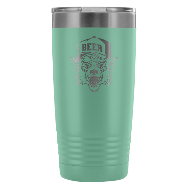 Werewolf Beer Hat 20oz Beer Tumbler Tumblers - The Beer Lodge