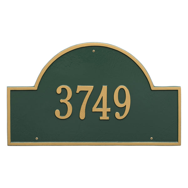 Arch Marker - Estate Wall - One Line LED Signs - The Beer Lodge