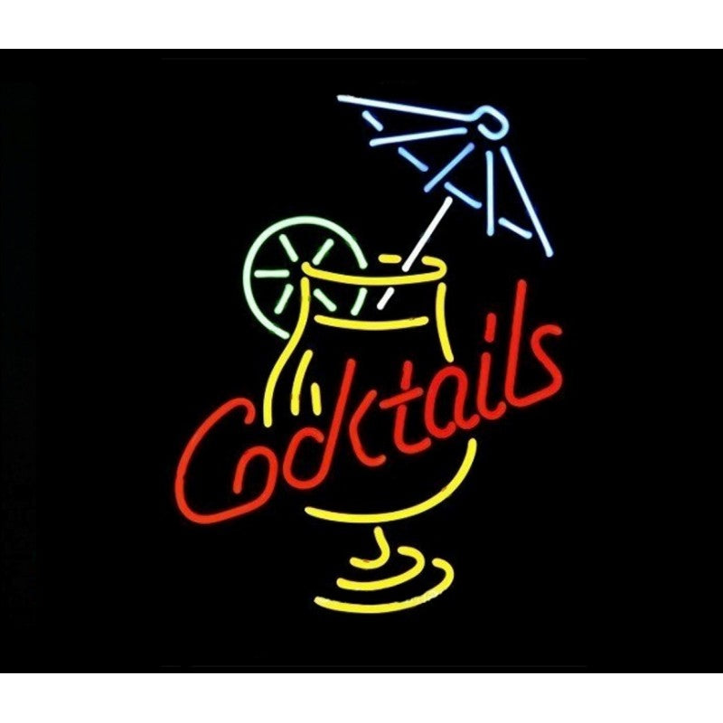 Cocktails Neon Home Bar Sign Neon Sign - The Beer Lodge