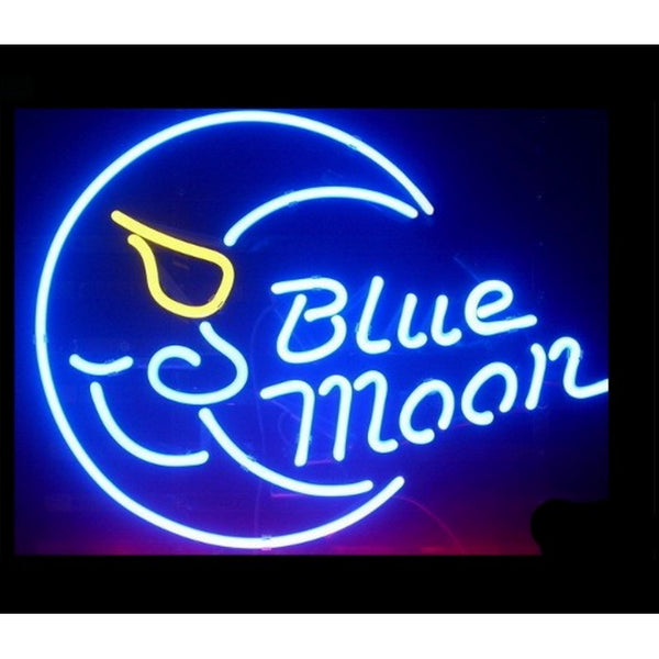 Blue Moon Home Bar Sign Neon Sign - The Beer Lodge