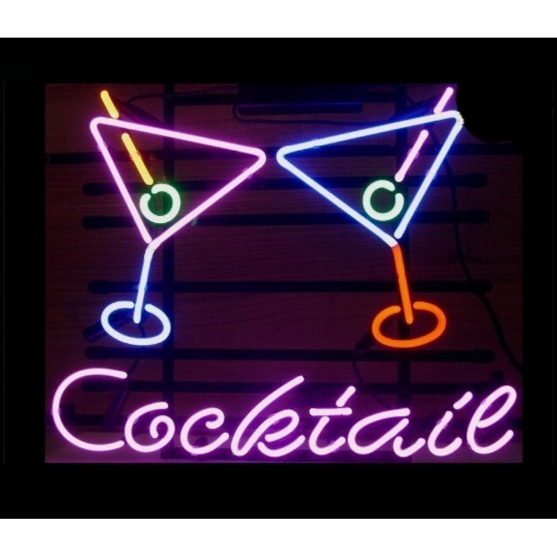Cocktail Martinis Neon Home Bar Sign Neon Sign - The Beer Lodge