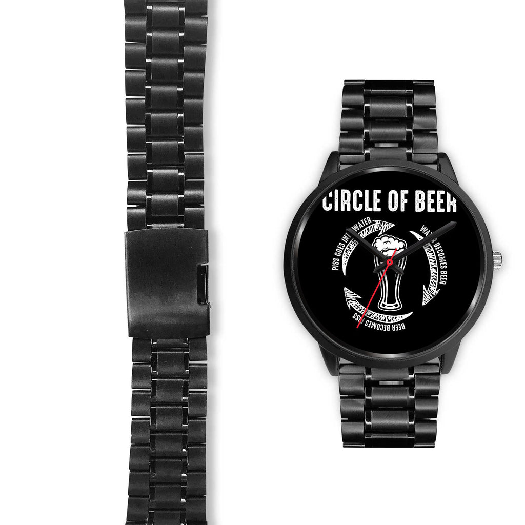 Circle Of Beer Watch Black Watch - The Beer Lodge