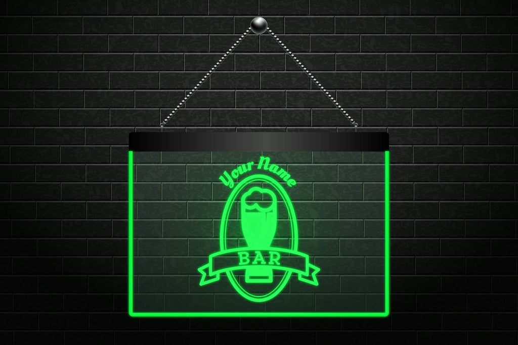 Custom Beer Glass Bar Neon Light Sign (Three Sizes) Beer Signs - The Beer Lodge
