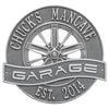 Personalized Racing Wheel Garage Aluminum Home Bar Sign (Four Colors) Metal Signs - The Beer Lodge