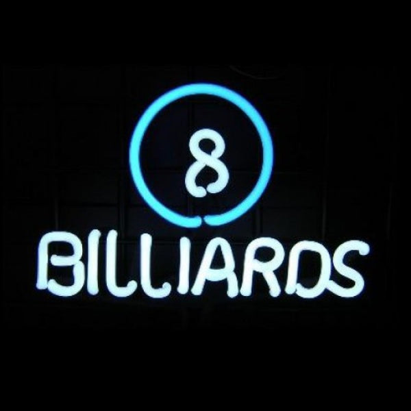8 Ball Billiards Neon Sculpture Neon Sculpture - The Beer Lodge