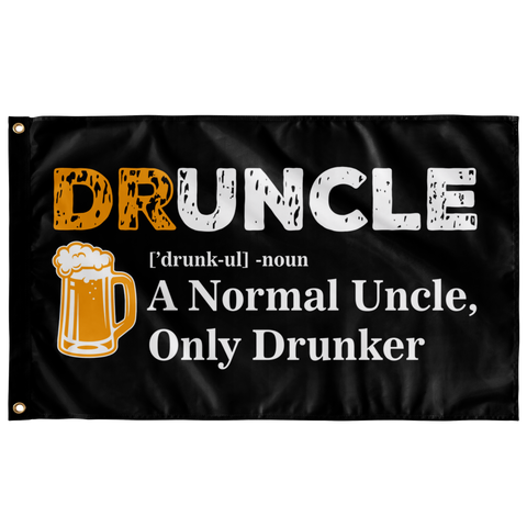 Druncle Flag Flags - The Beer Lodge
