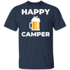 Happy Camper T-Shirt Apparel - The Beer Lodge