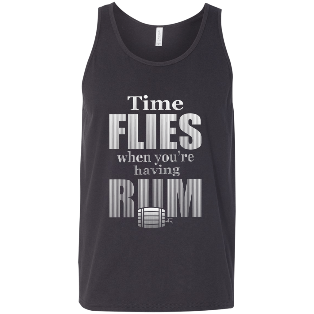 Time Flies When You're Having Rum Tank Top Apparel - The Beer Lodge