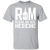 RUM Regular Use Medicine T-Shirt Apparel - The Beer Lodge