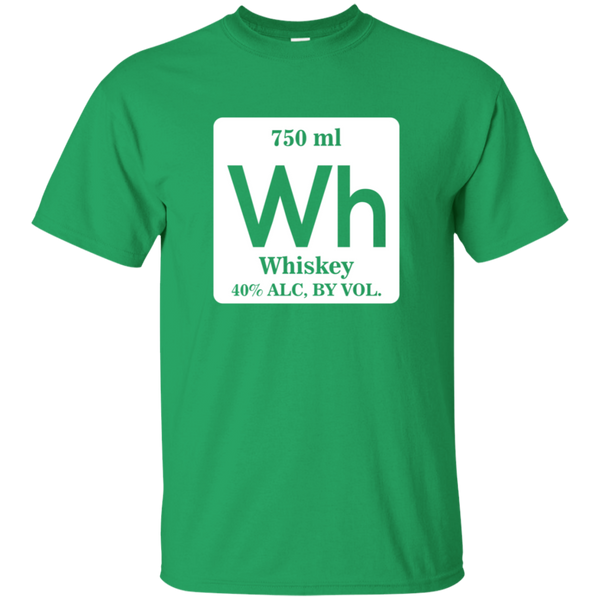 750ml Whiskey Periodic Table T-Shirt Apparel - The Beer Lodge