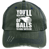 You'll Need Lots Of Balls To Golf With Me Trucker Cap Hats - The Beer Lodge