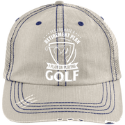 Yes I Do Have A Retirement Plan I Plan On Playing Golf Trucker Cap