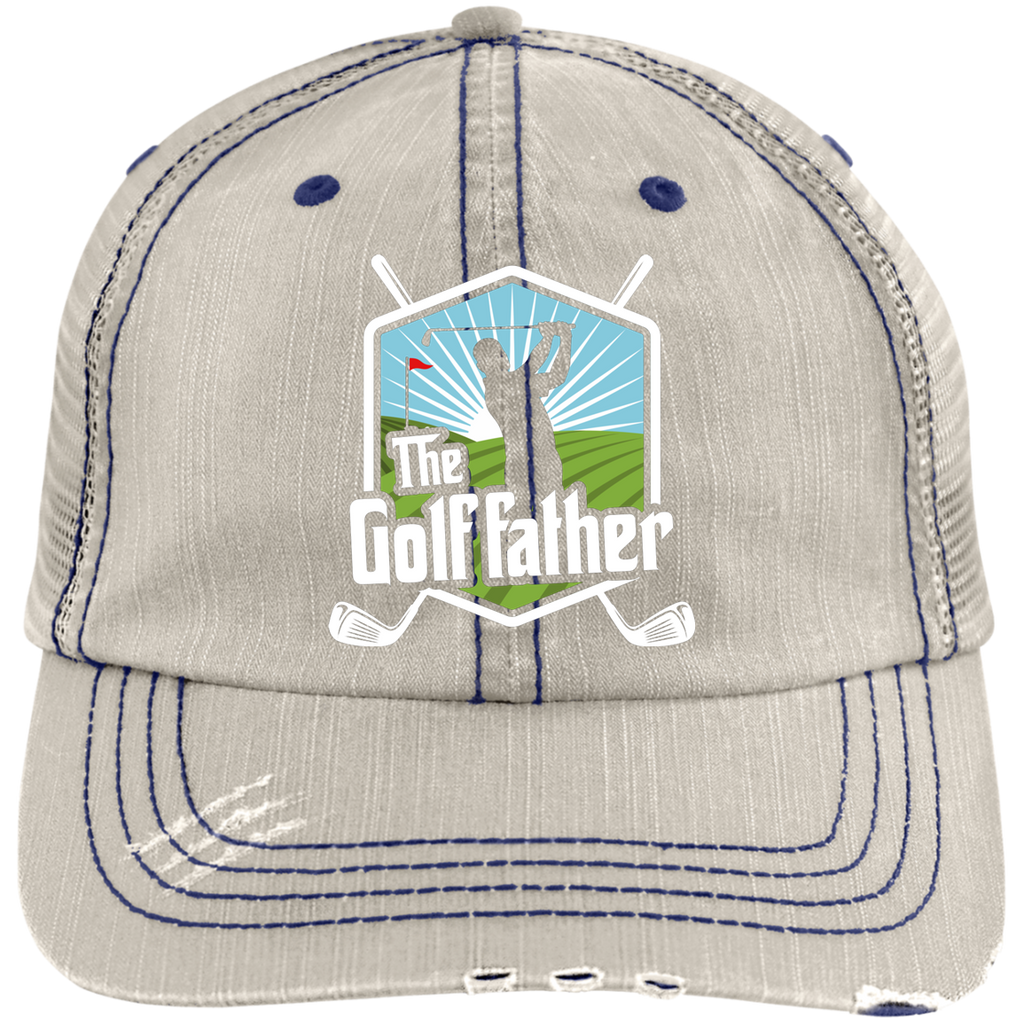 The Golf Father Trucker Cap Hats - The Beer Lodge