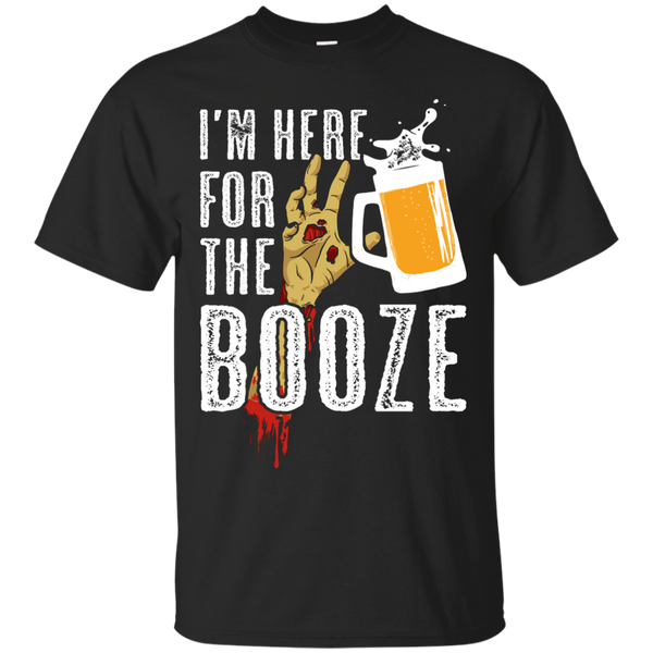 I'm Here For The Booze Halloween T-Shirt