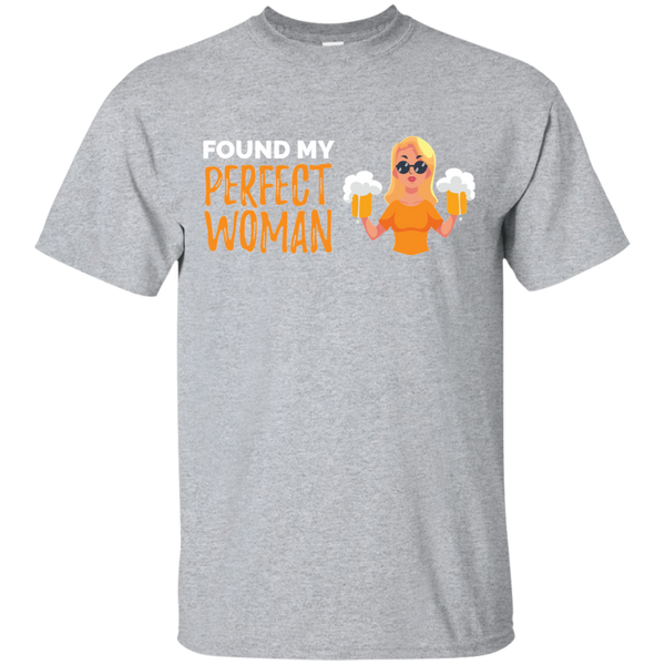 Found My Perfect Woman T-Shirt - The Beer Life