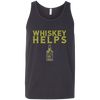 Whiskey Helps Tank Top Apparel - The Beer Lodge