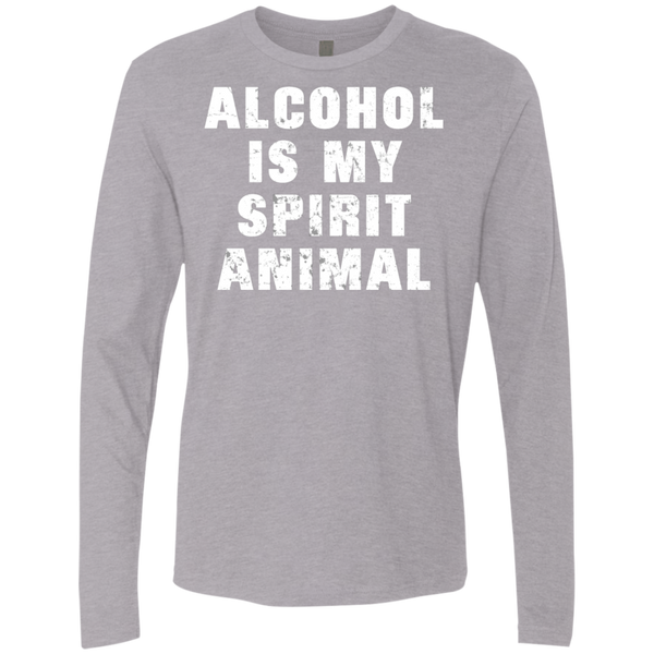 Alcohol Is My Spirit Animal T-Shirt Apparel - The Beer Lodge