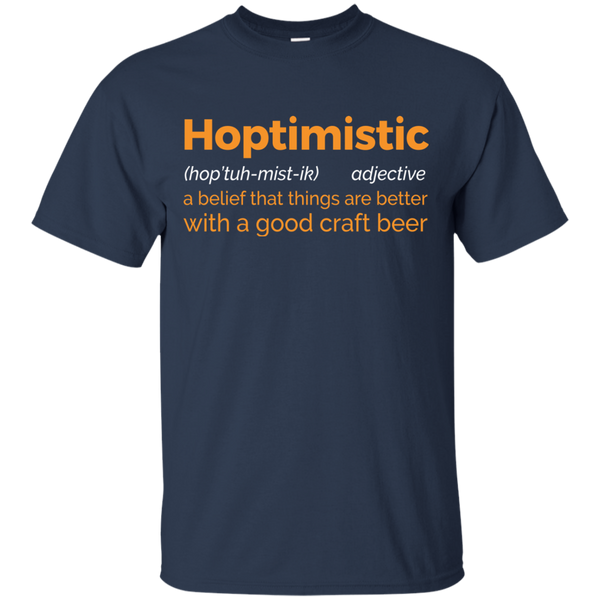 Hoptimistic T-Shirt - The Beer Life