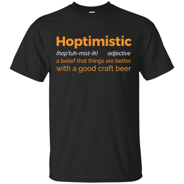 Hoptimistic T-Shirt Apparel - The Beer Lodge