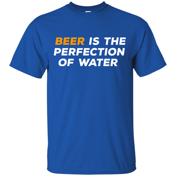 Beer Is The Perfection of Water T-Shirt Apparel - The Beer Lodge