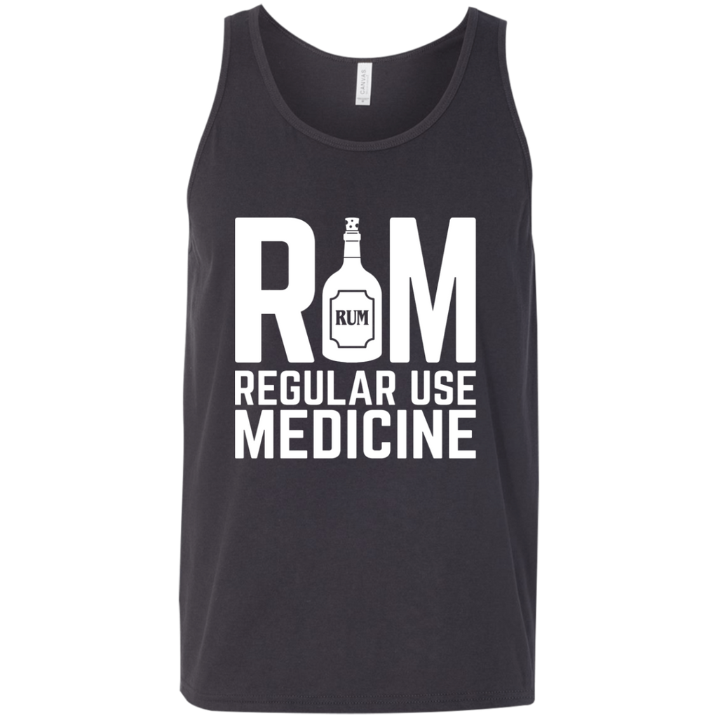 Rum Regular Use Medicine Tank Top Apparel - The Beer Lodge
