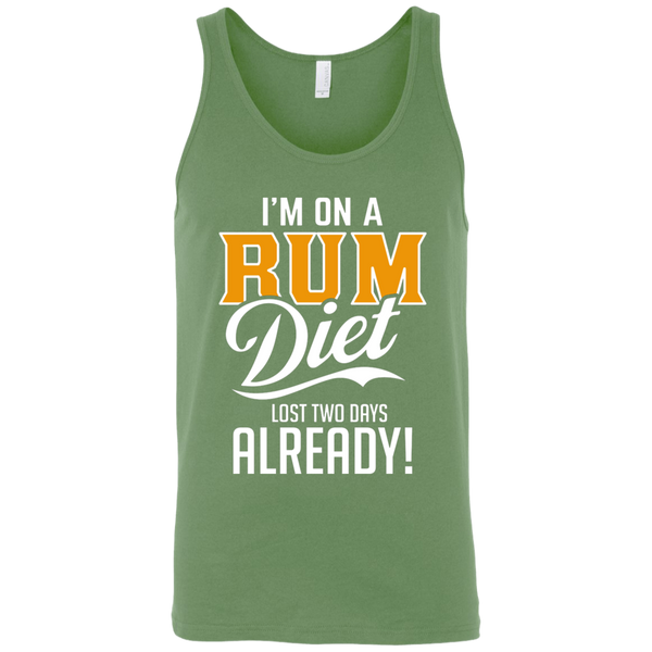 I'm On A Rum Diet Lost Two Days Already Tank Top Apparel - The Beer Lodge