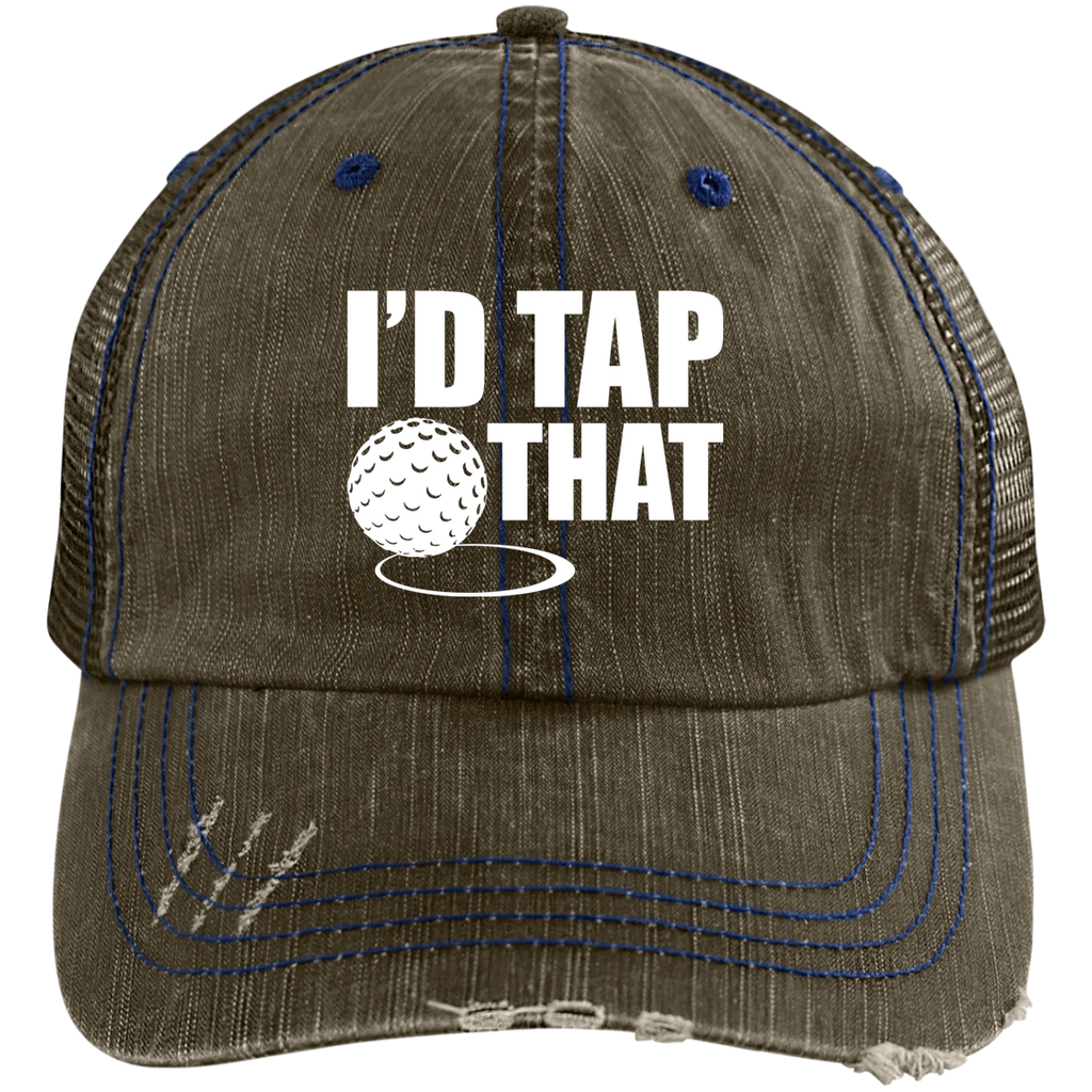 I'd Tap That Trucker Cap Hats - The Beer Lodge