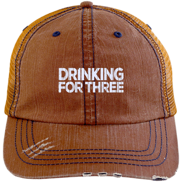 Drinking For Three Trucker Cap - The Beer Life