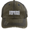 Drinking For Three Trucker Cap Hats - The Beer Lodge