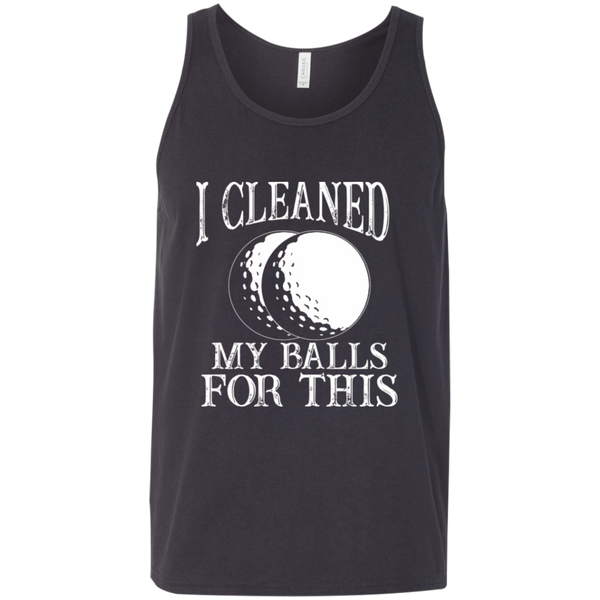 I Cleaned My Balls For This Tank Top Apparel - The Beer Lodge