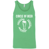 Circle Of Beer Tank Top T-Shirts - The Beer Lodge