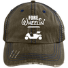Fore Wheelin' Trucker Cap Hats - The Beer Lodge
