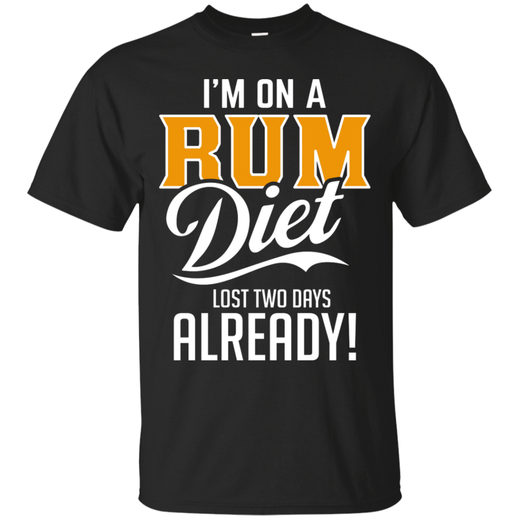 I'm On A Rum Diet T-Shirt Apparel - The Beer Lodge