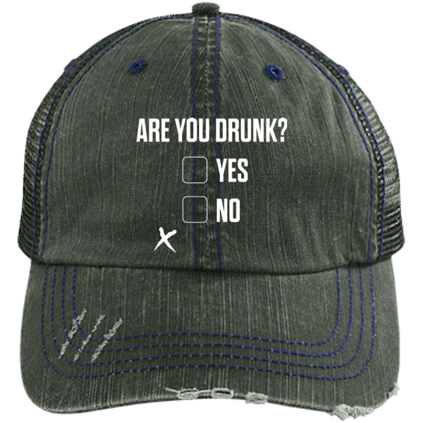 Are You Drunk Trucker Cap Hats - The Beer Lodge