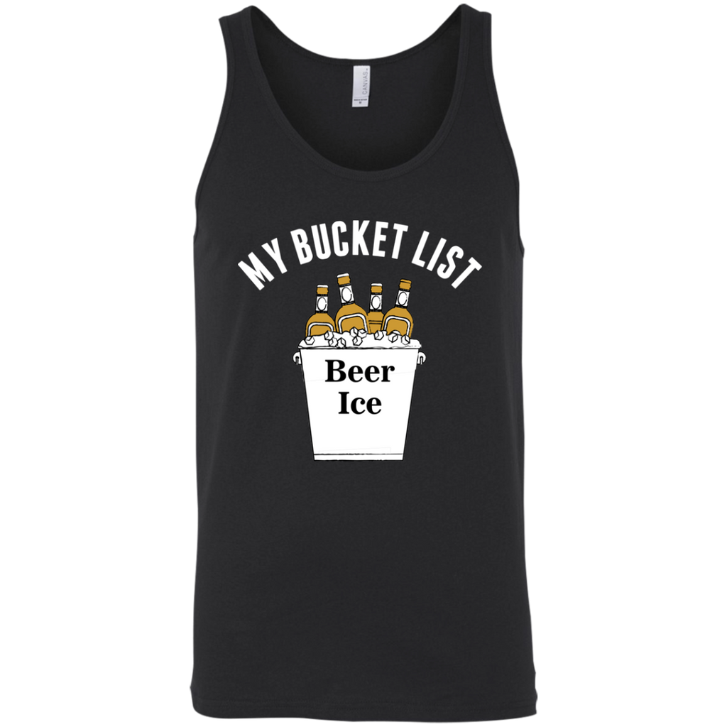 My Bucket List Tank Top Apparel - The Beer Lodge