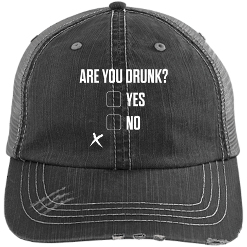 Are You Drunk Trucker Cap