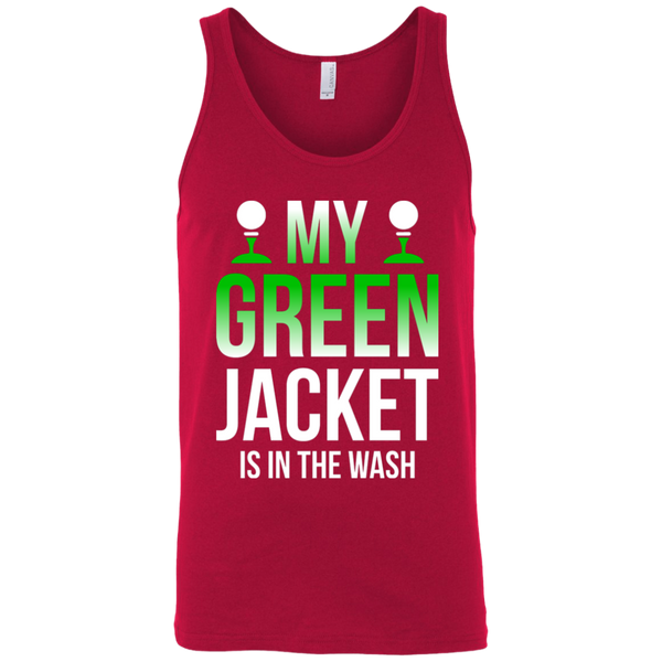 My Green Jacket Is In The Wash Tank Top Apparel - The Beer Lodge