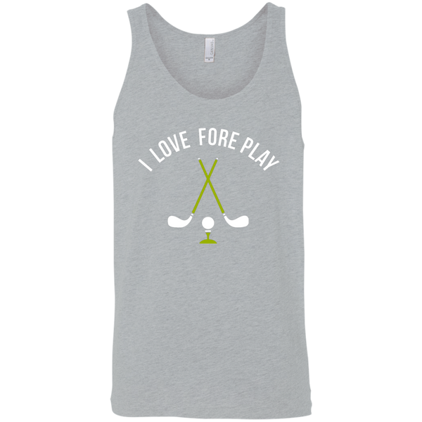 I Love Fore Play Tank Top Apparel - The Beer Lodge