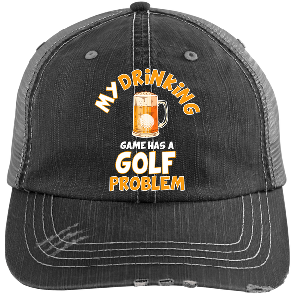 My Drinking Game Has A Golf Problem Trucker Cap Hats - The Beer Lodge