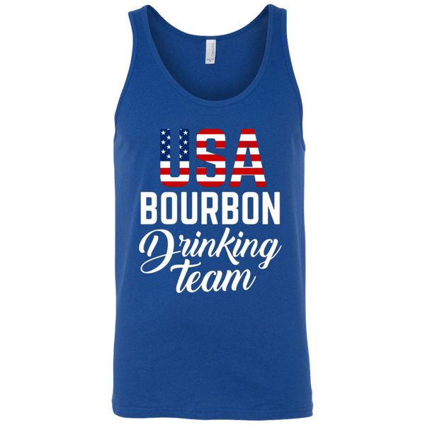 USA Bourbon Drinking Team Tank Top Apparel - The Beer Lodge