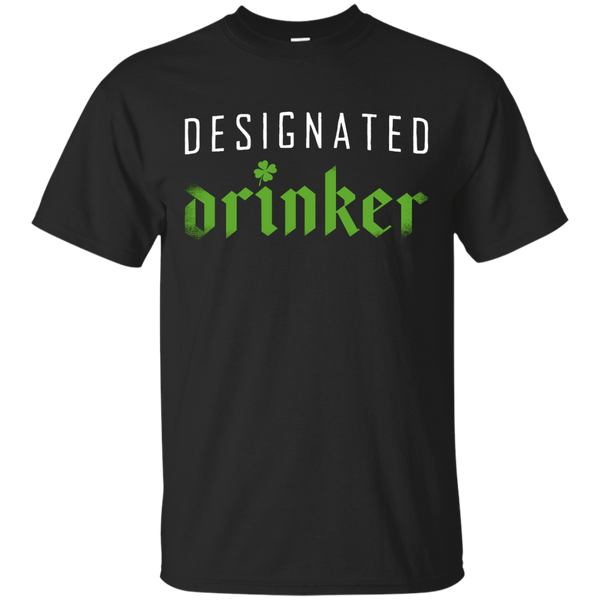 Designated Drinker T-Shirt Apparel - The Beer Lodge